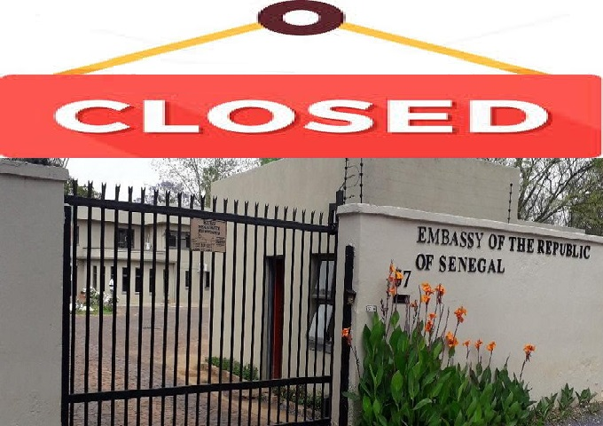 CORONAVIRUS : EMBASSY OF THE REPUBLIC OF SENEGAL WILL BE CLOSED