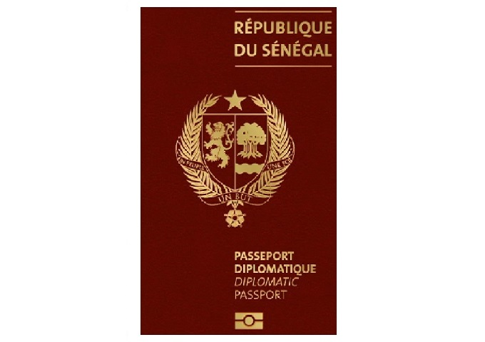 THE NEW DIPLOMATIC PASSPORTS OF THE REPUBLIC OF SENEGAL