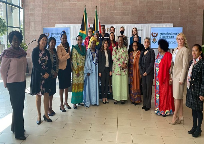 DIRCO INVITATION: Working breakfast with the group of Women Ambassadors in South Africa